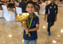 7-year-old Aren Emrikyan became world chess champion