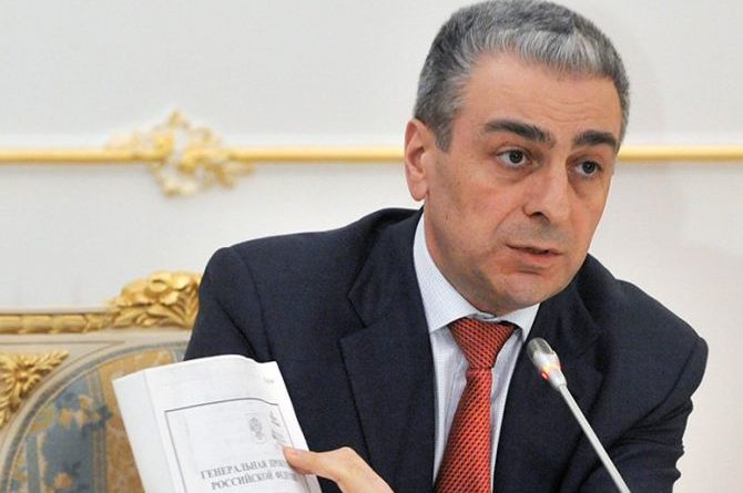 Russia's deputy prosecutor general Sahak Karapetyan died in helicopter crash